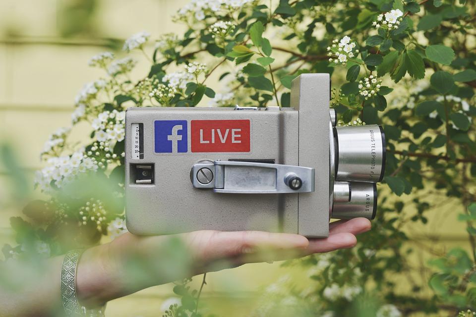 živé vysílání