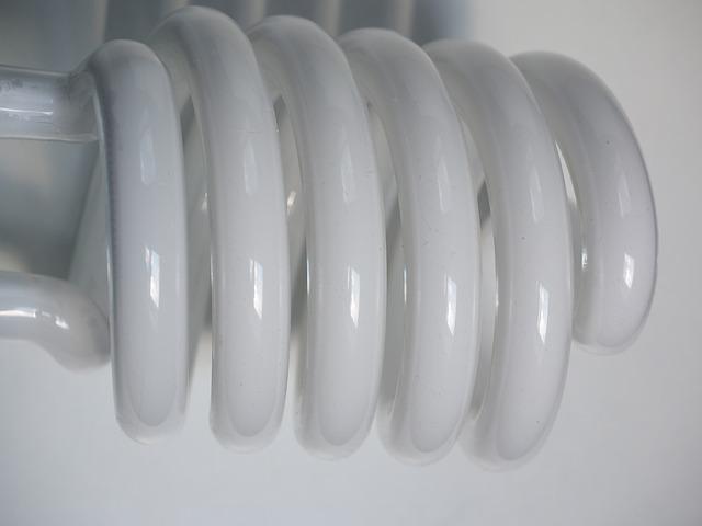 stočená zářivka