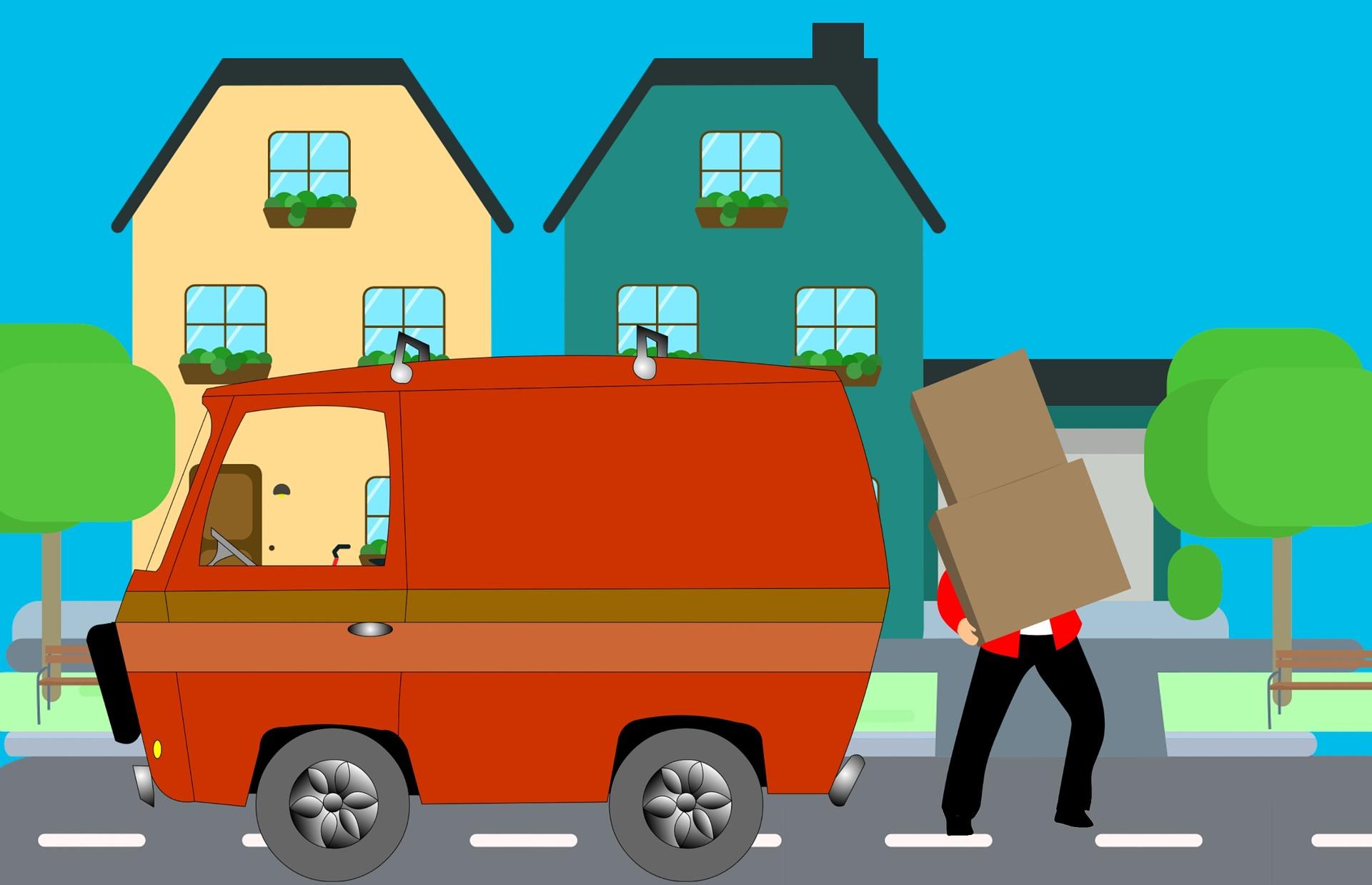 Stěhování od profesionálů